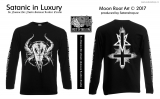 Tričko unisex - Satanic in Luxury - MoonRoot Art - dl. rukáv