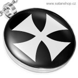Amulet - Bílý Iron Cross