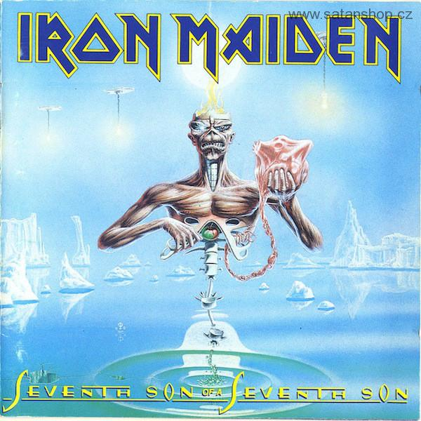 CD - Iron Maiden ‎- Seventh Son Of A Seventh Son