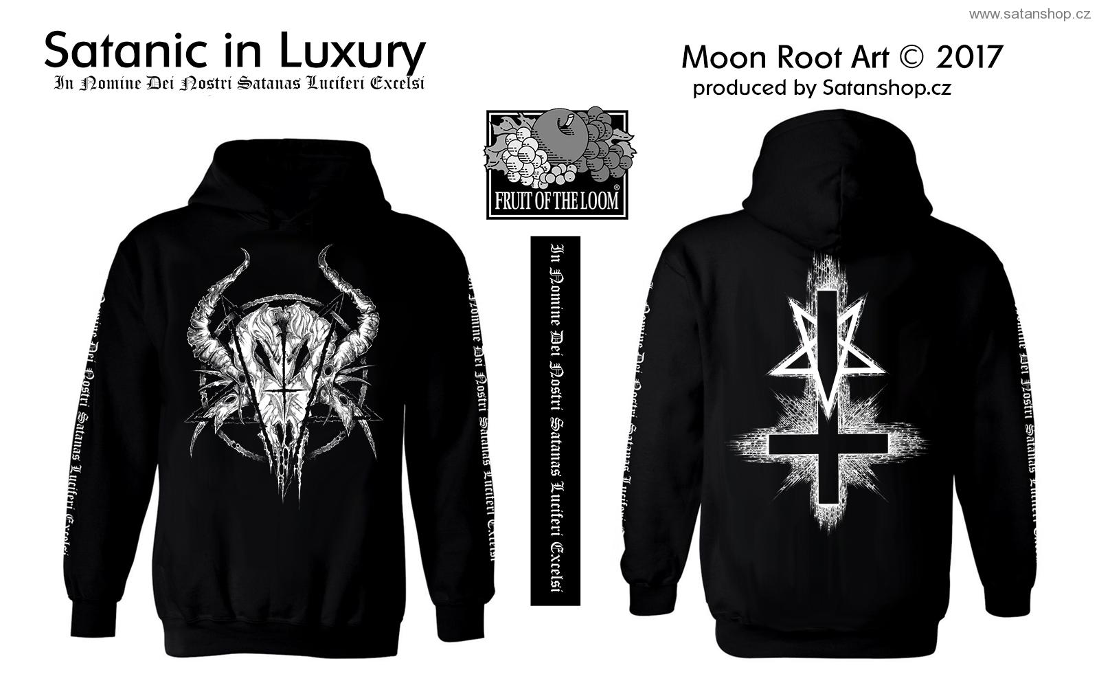 Mikina - Satanic in Luxury - MoonRoot Art