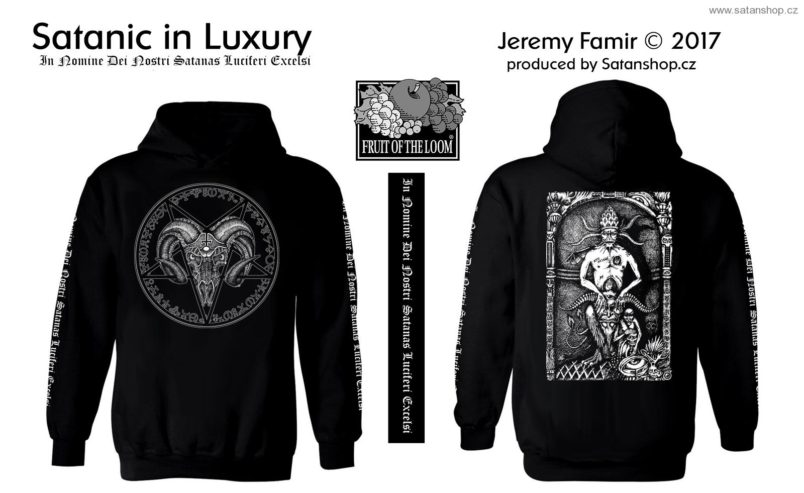 Mikina - Satanic in Luxury - Jeremy Famir