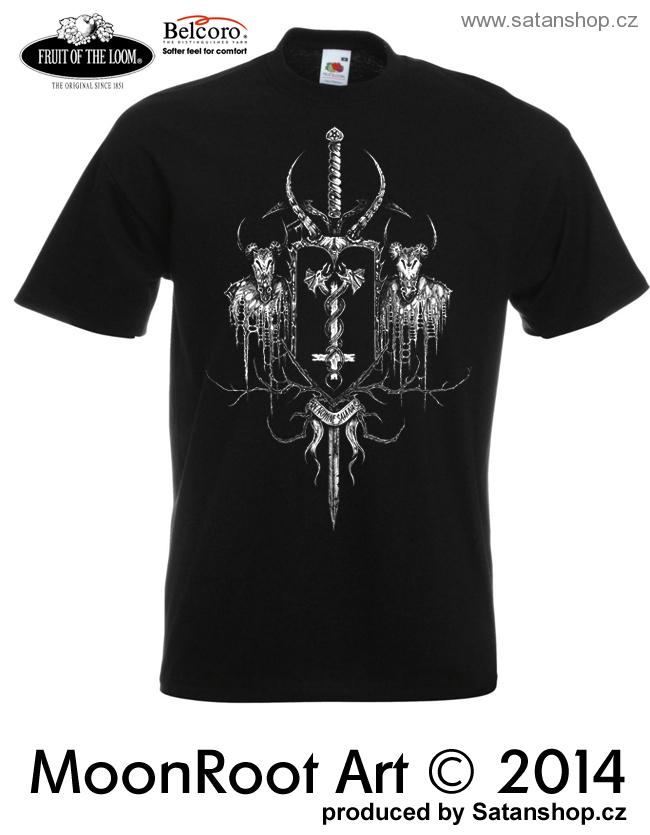Tričko unisex - In Nomine Satanas - MoonRoot Art