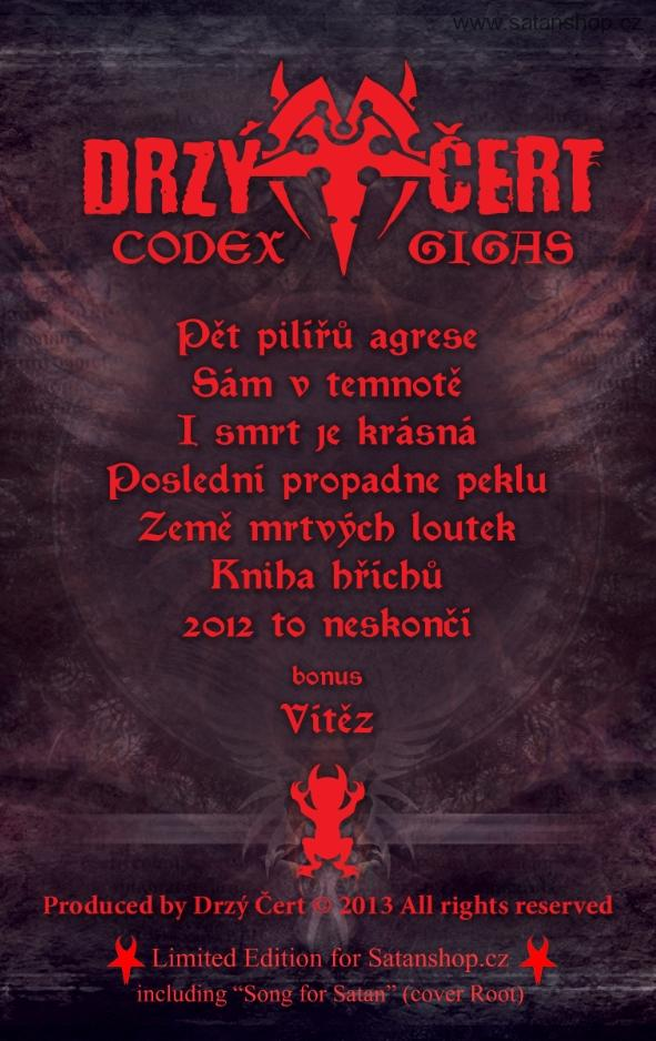 MC - Drzý Čert - Codex Gigas