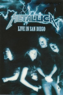 DVD -Metallica ‎- Live In San Diego