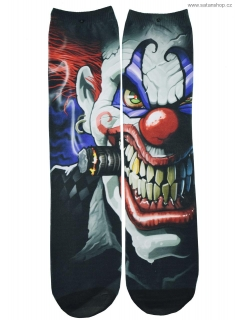 Ponožky Unisex - Evil Clown - Darkside