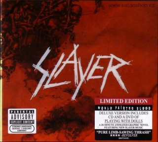 CD - Slayer ‎- World Painted Blood - Limited Edition