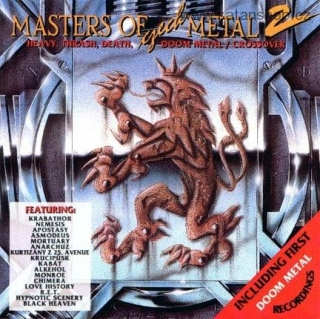 CD - Masters Of Czech Metal 2