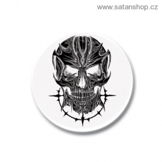 Placka - Devil Skull White