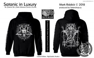 Mikina - Satanic in Luxury - Mark Riddick