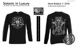 Tričko unisex - Satanic in Luxury - Mark Riddick - dl. rukáv