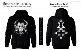 Mikina unisex - Inverted Cross - MoonRoot Art
