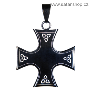 Amulet - Iron Cross Triquetra
