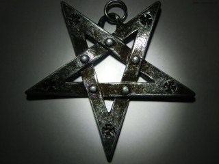 Amulet - Pentagram - Iron Cross