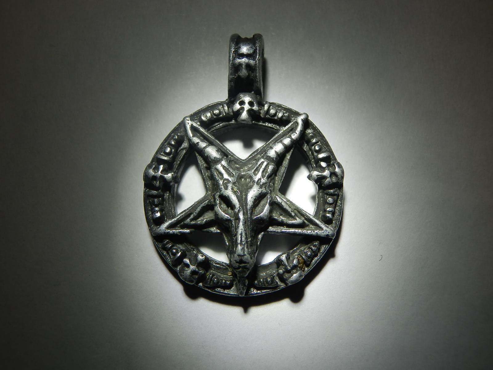 Amulet - Baphomet s lebkami