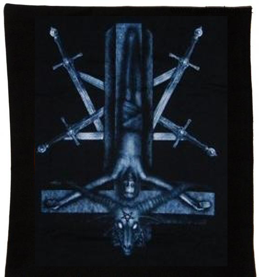 Potah na polštář - Inverted Cross