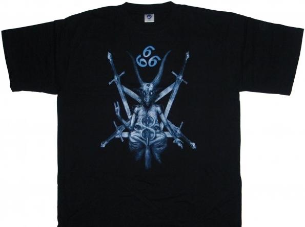 Tričko pánské - Pentagram Sword 666