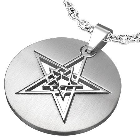 Amulet - Pentagram Inside