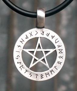 Náhrdelník - Rune Pentagram