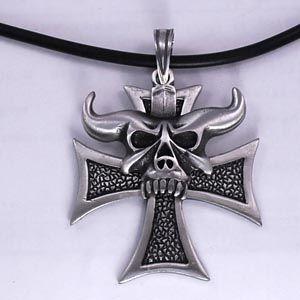 Náhrdelník - Iron Cross Satan