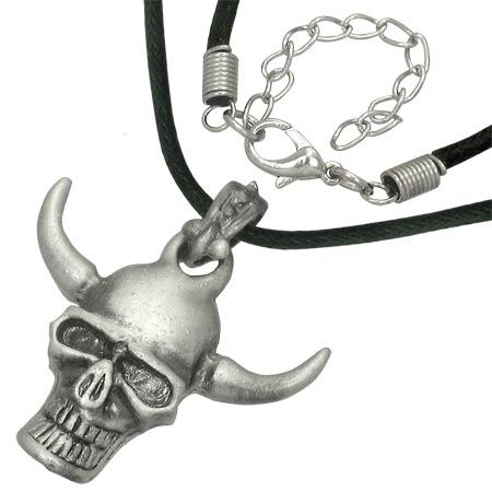 Náhrdelník - Satan Skull