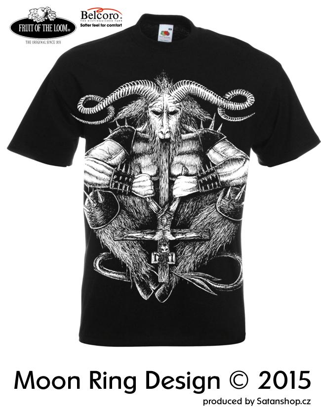 Tričko unisex - Satan - Moon Ring Design