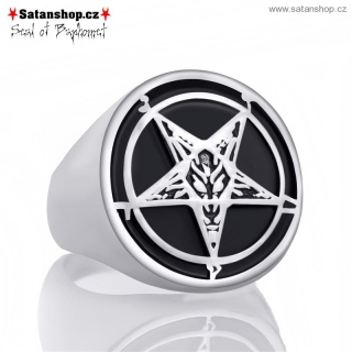 Prsten - Seal of Baphomet - 316L